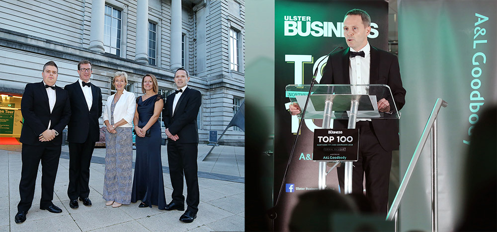 A&L GOODBODY HOSTS THIRD ANNUAL NI TOP 100 COMPANIES BANQUET