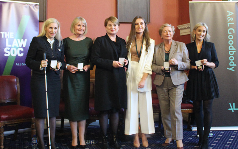 Catherine Duffy receives prestigious award from Trinity College Dublin