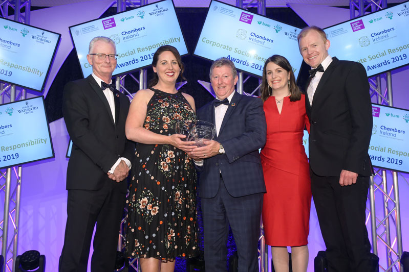 ALG takes home a Chambers Ireland CSR award for our collaboration with the Irish Refugee Council