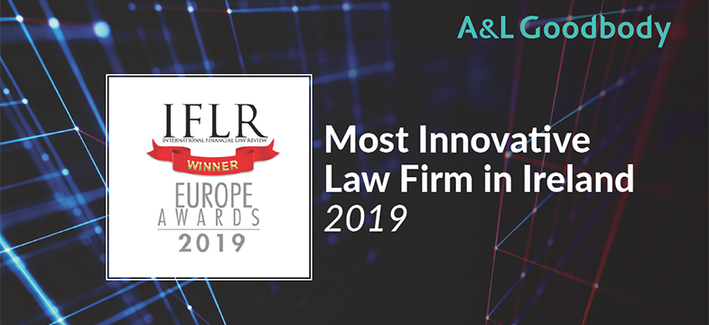 ALG named Most Innovative Law Firm in Ireland by IFLR