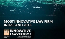 Most Innovative Law Firm in Ireland 2018