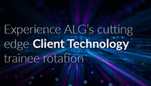 ALG first to offer Client Tech trainee rotation