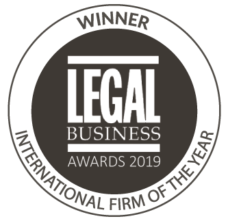 Legal Business - International Firm of the Year 2019