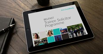 Trainee Solicitor Programme - Belfast