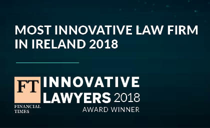 FT Innovative Lawyer Award winner 2018