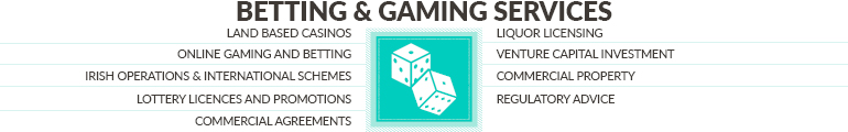 Betting and Gaming infographic