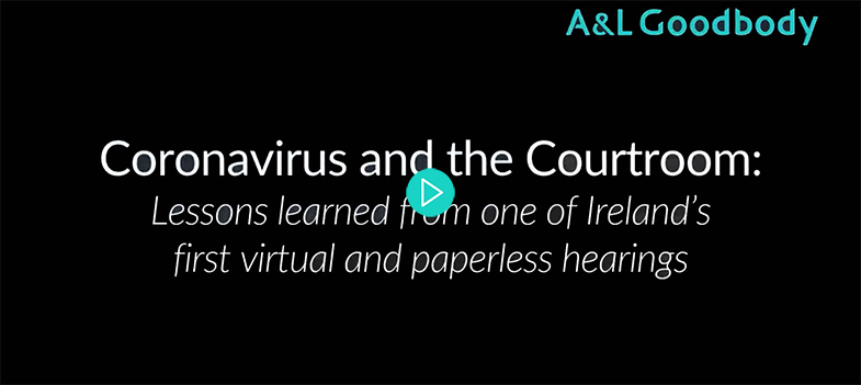 Coronavirus and the courtroom