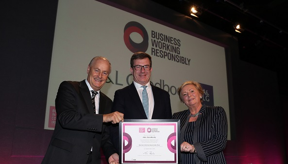 A&L Goodbody is the first Irish law firm to achieve the Business Working Responsibly