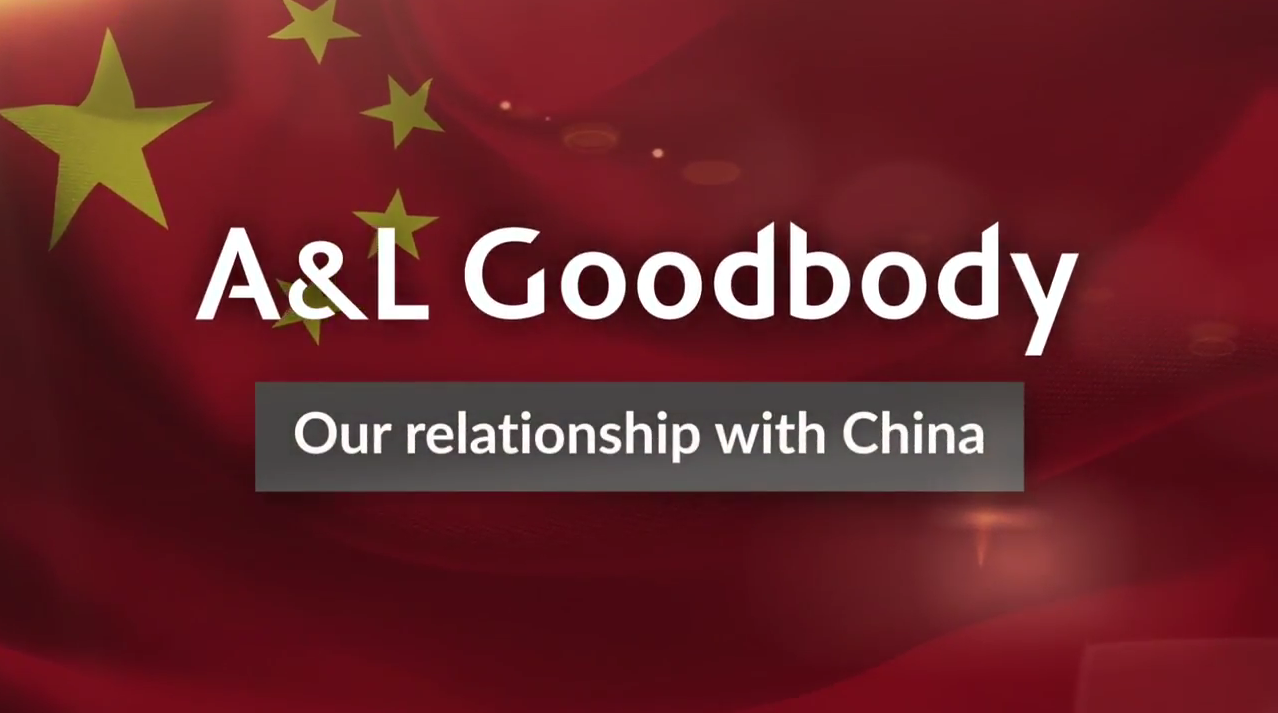 A&L Goodbody's relationship with China