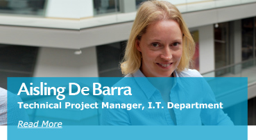 Aisling De Barra Technical Project Manager I.T Department