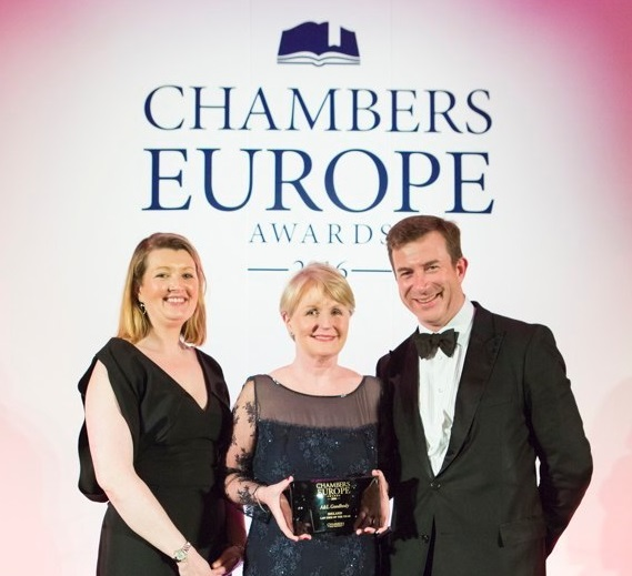 A&L Goodbody named Irelands Law Firm of the Year 2016