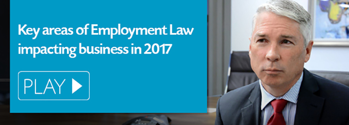 Key areas of Employment Law in 2017
