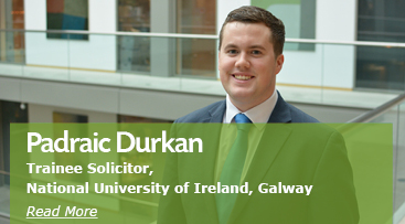 Padraic Durkan, Trainee Solicitor