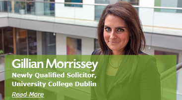 Gillian Morrissey, Newly Qualified Solicitor