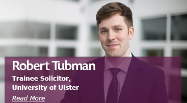 Robert Tubman Trainee Solicitor