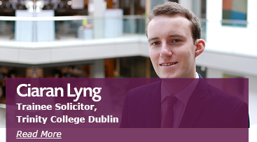 Ciaran Lyng, Trainee Solicitor
