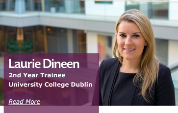 Laurie Dineen 2nd Year Trainee